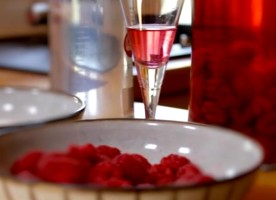 Demonstration video production - how to make raspberry-infused vodka