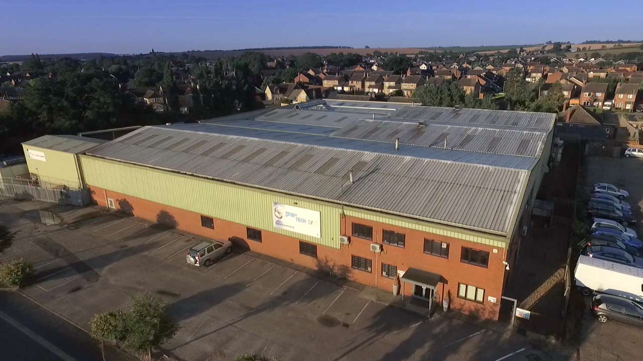 Aerial drone photography Cambridgeshire - Corporate video production