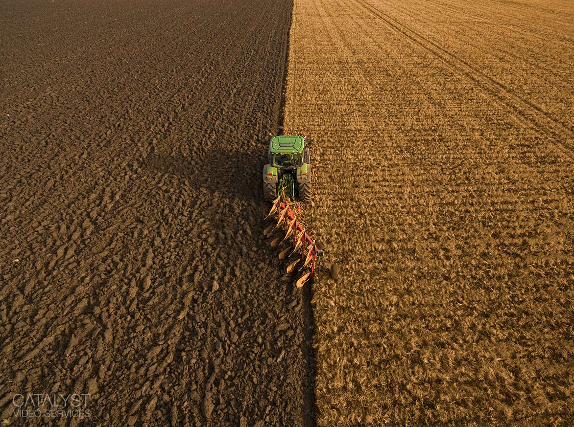 Aerial photography - farming