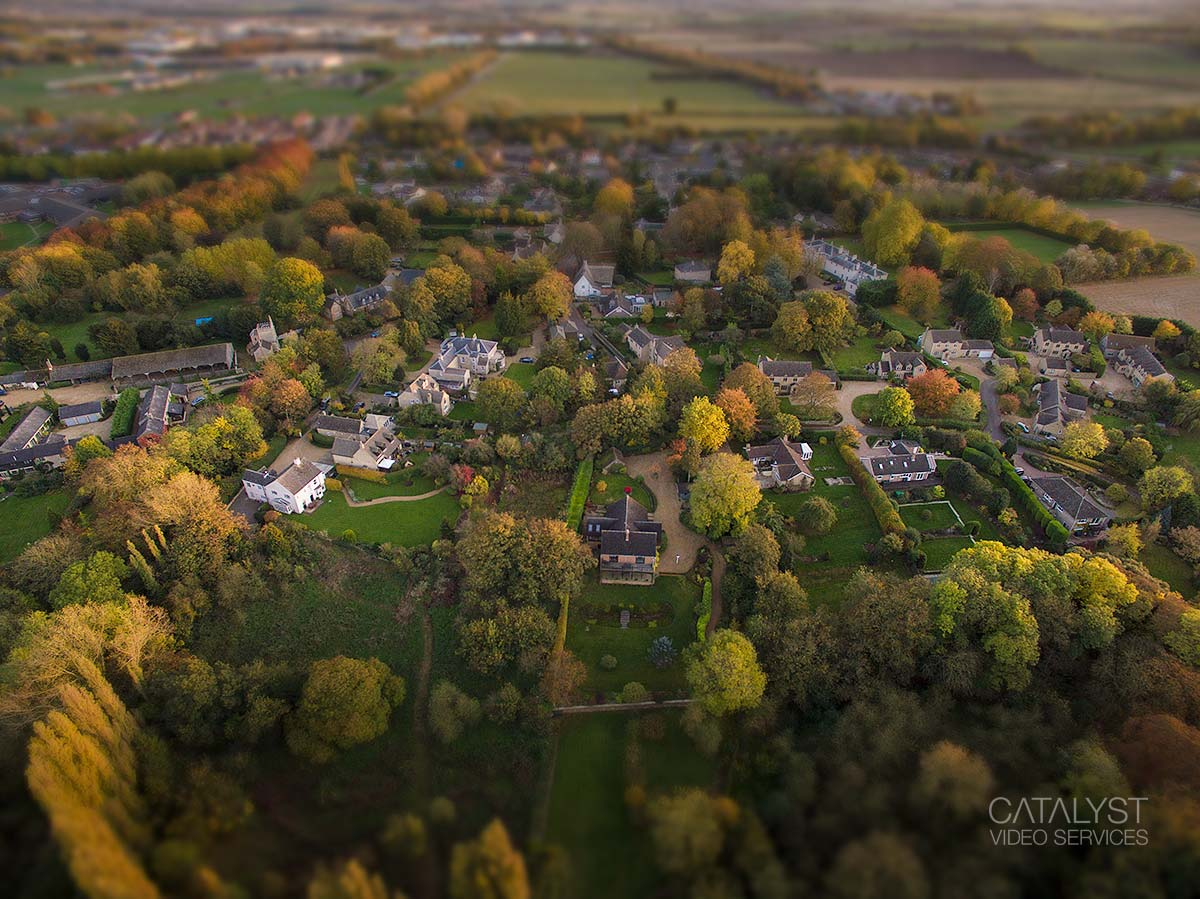 Aerial drone photography Cambridgeshire -  - property