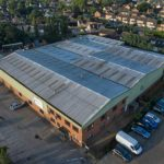 Aerial photography - engineering works