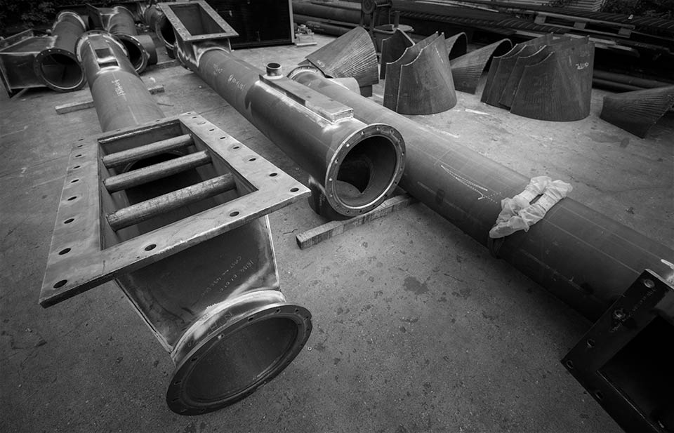 Location photography - engineering works