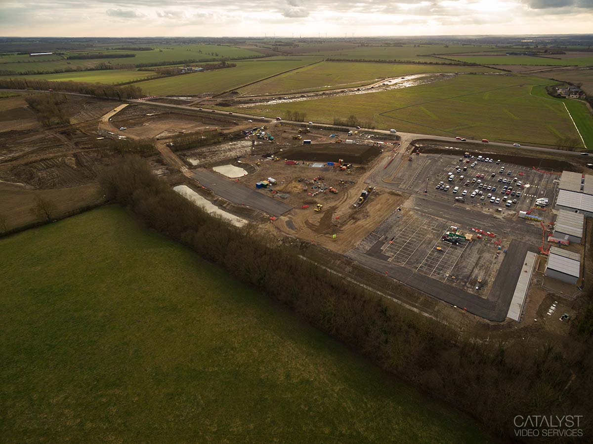 Aerial photography - office development area
