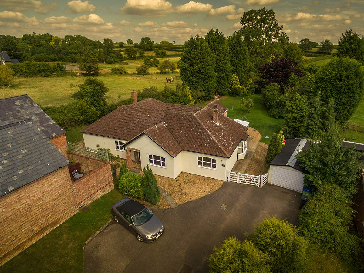 Aerial property photography
