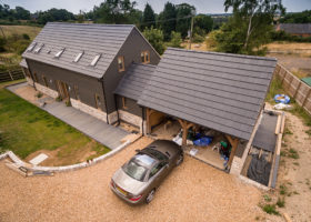 Cambridgeshire arial property photography