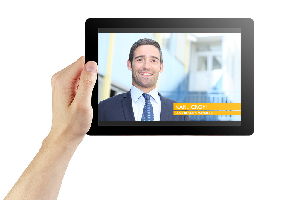 Corporate video to introduce key personnel