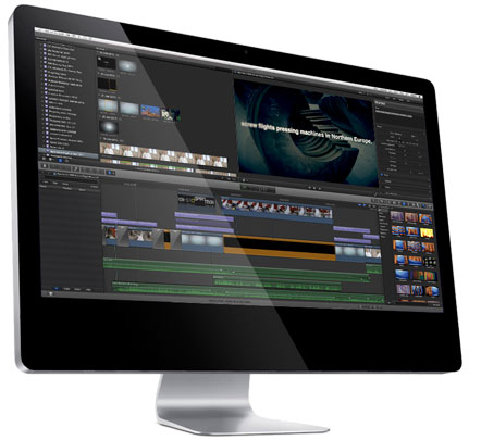 Video services - Video editing with Final Cut Pro X