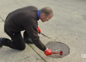 Demonstration video - cleaning drains