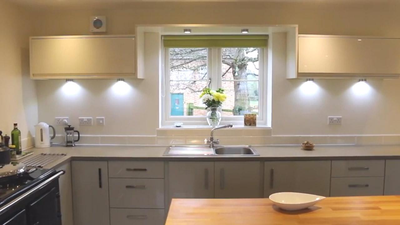 Property video of Kitchen installation