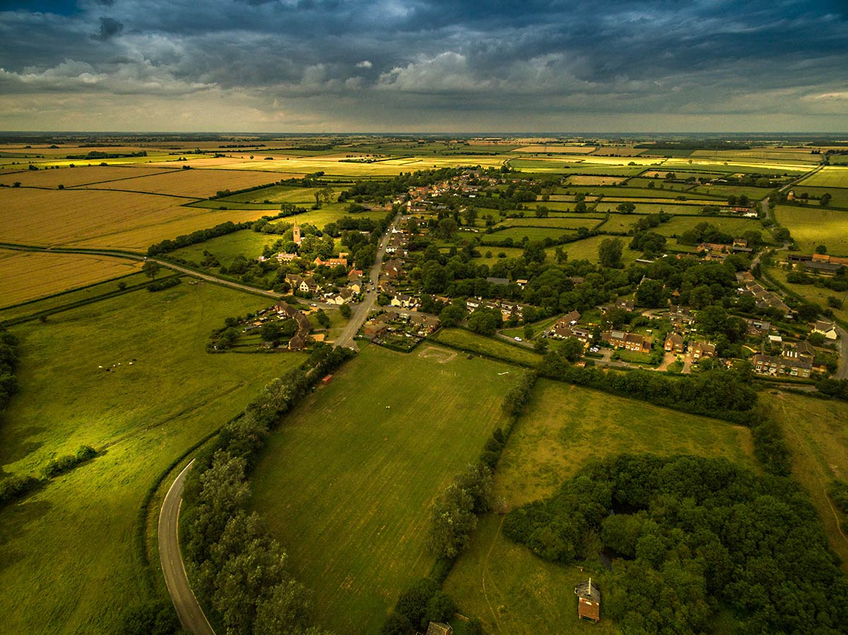 Drone photography - Recreation ground