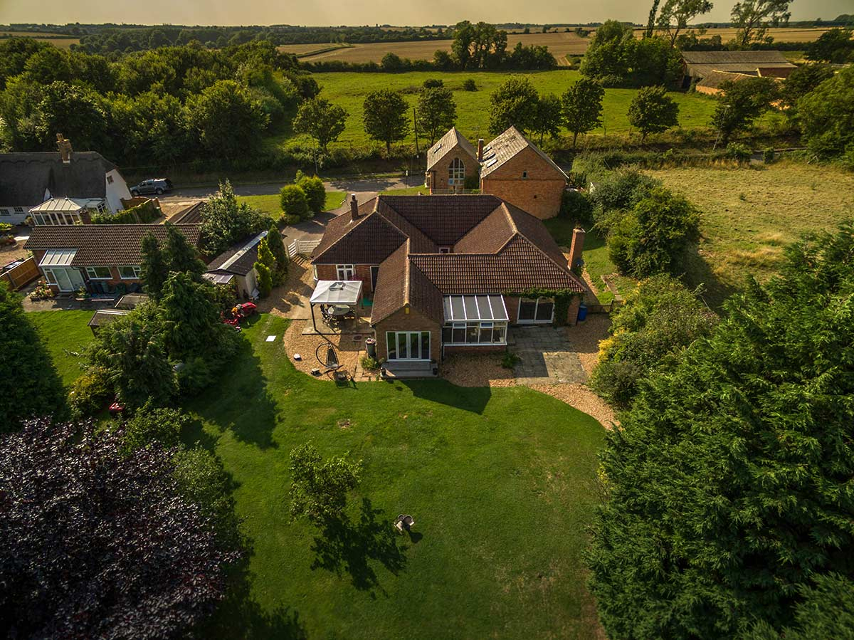 Aerial photography - property