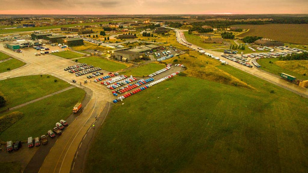 Aerial drone photography - Alconbury