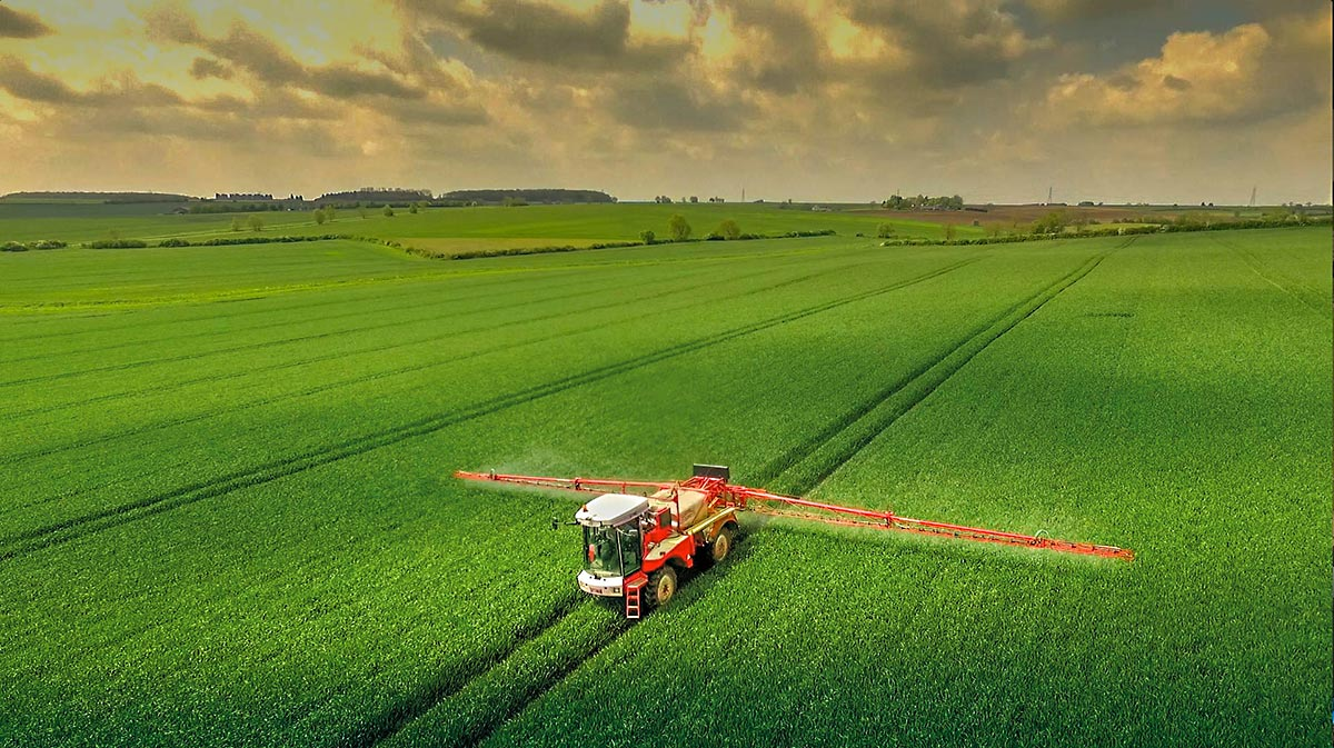 Aerial photography - Cambridgeshire farming