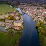 Aerial photography - St Ives, Cambridgeshire