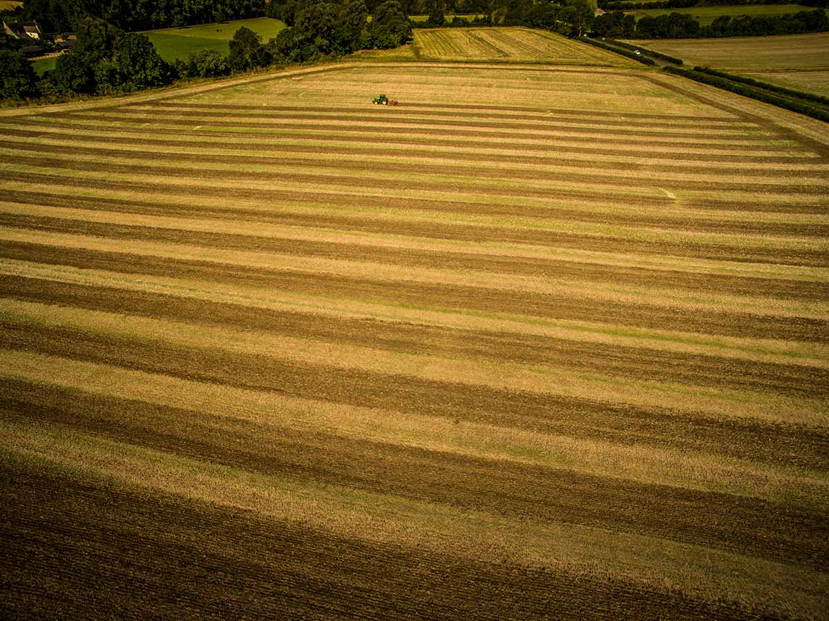 Aerial photography - farming