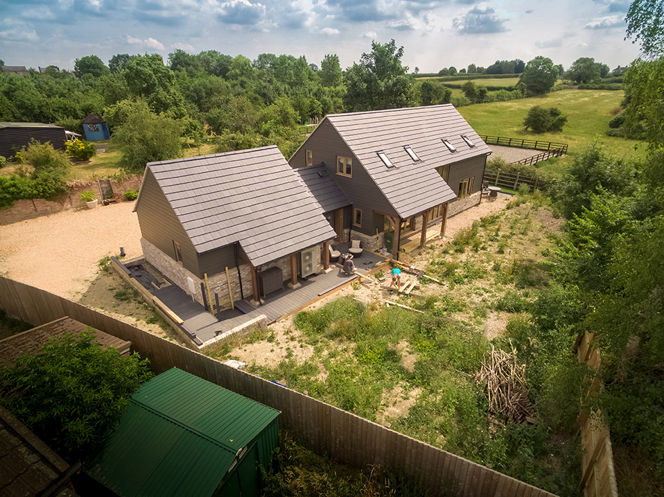 Arial property photography Cambridgeshire