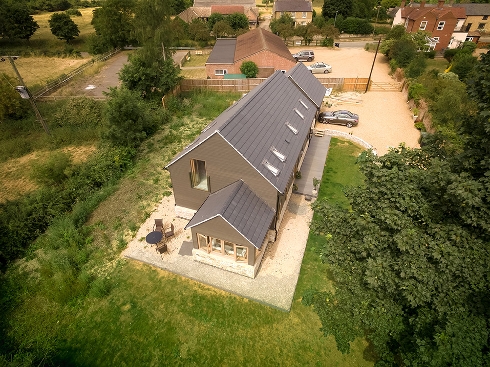 Cambridgeshire drone arial property photography