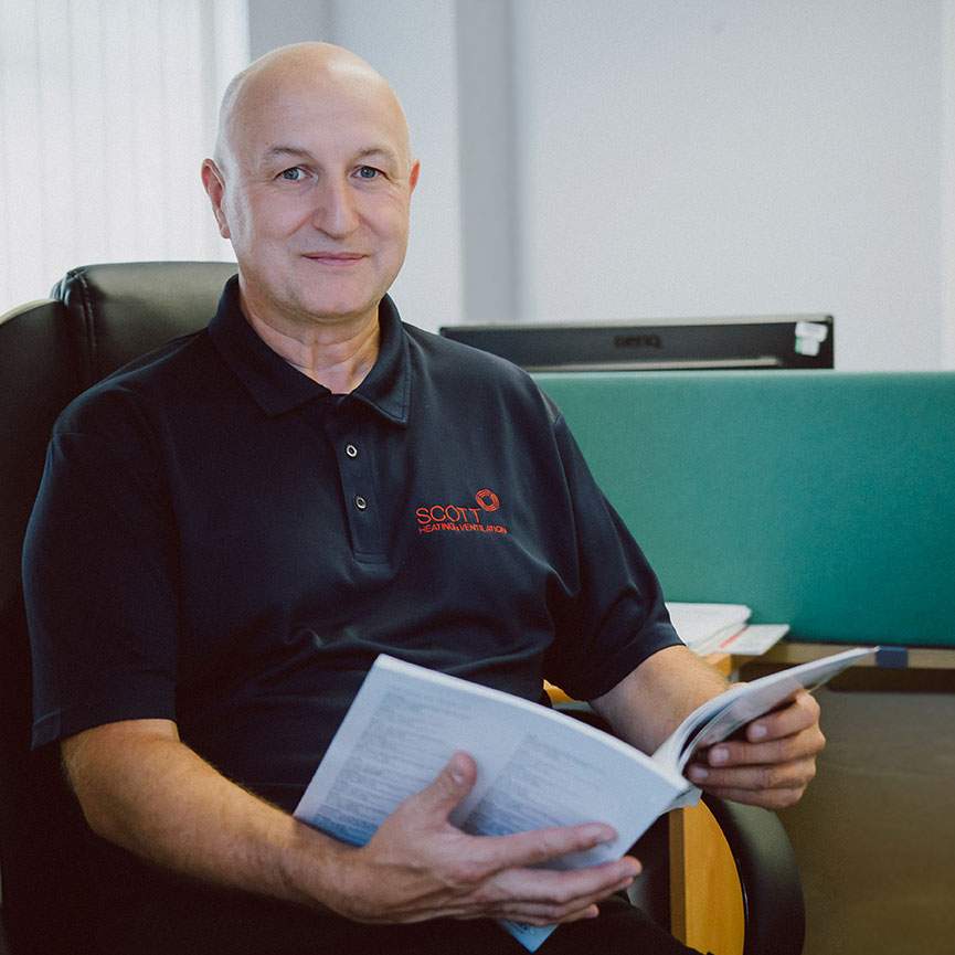 Staff portrait photography for engineering company