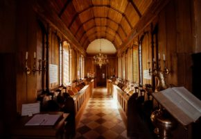 Location photography - Little Gidding Church