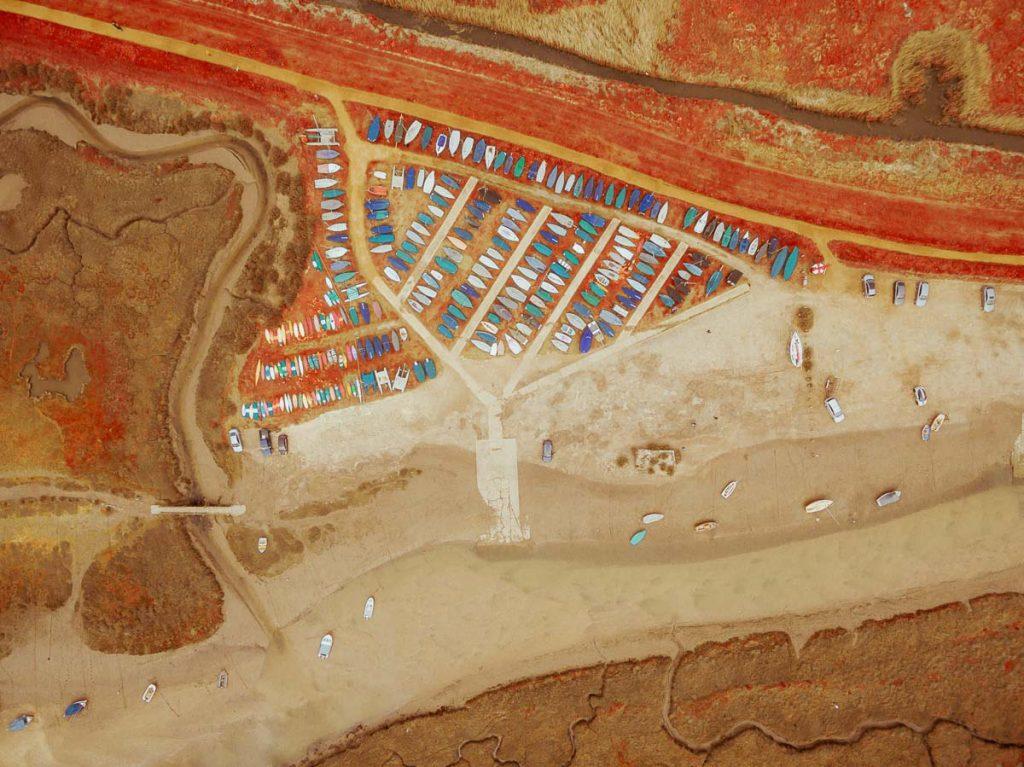 Kodak Aerochrome aerial photo